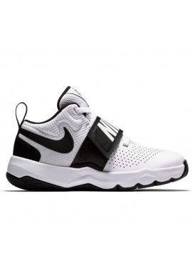 NIKE HUSTLE D8 (PS) WHITE/BLACK