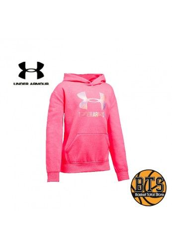 UNDER ARMOUR THREADBORNE FLEECE HOODY PINK