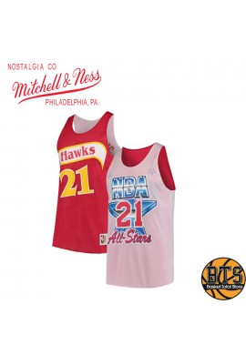 "ALL STAR ATLANTA HAWKS REVERS TANK ""DOMINIQUE WILKINS"""