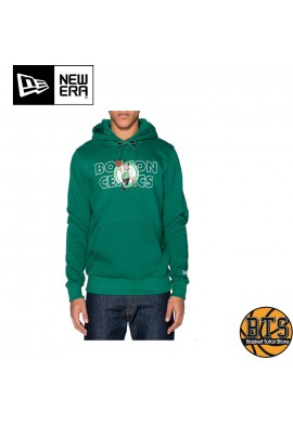 NEW ERA OVERLAP BOSTON CELTICS HOODY