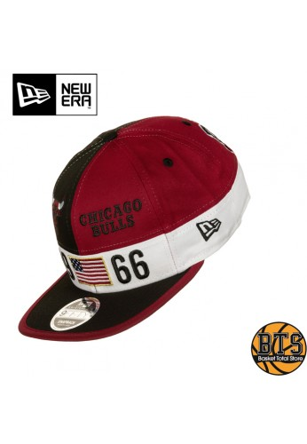 New Era Colour Block League 9Fifty Chicago Bulls