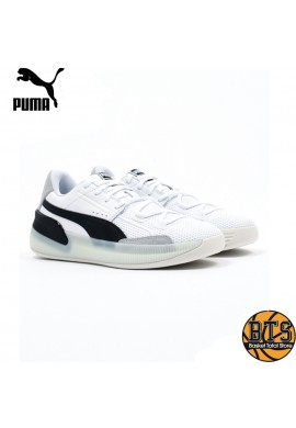 "PUMA Clyde Hardwood ""White-Black"""