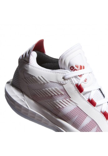 "ADIDAS DAME 6 J ""WHITE AND RED"""