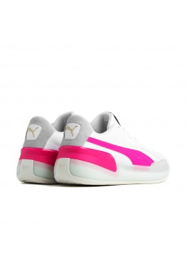 "PUMA CLYDE HARDWOOD ""White-Pink"""