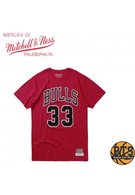 Mitchell & Ness - LAST DANCE BULLS NUMBER 33 PIPPEN