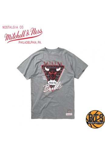 MITCHELL AND NESS LAST DANCE BULLS WINDY CITY TEE