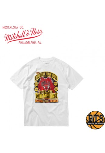 MITCHELL AND NESS LAST DANCE BULLS '96 CHAMPS TEE